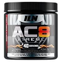 Iron Labs Nutrition, AC8 Xtreme (Fruit Punch) - Pre-Workout Supplement, 300 grams
