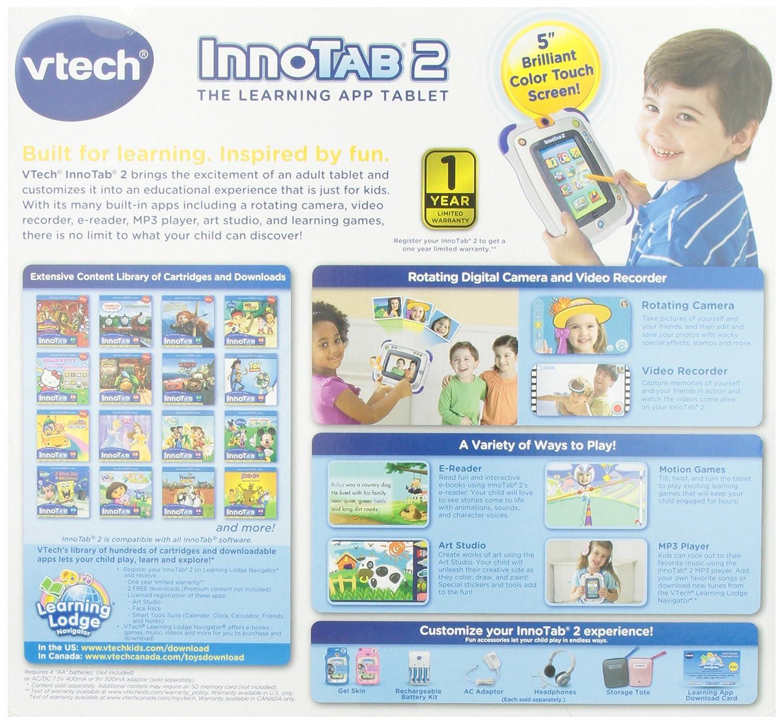 Amazon VTech InnoTab 2 Kids Tablet Blue Toys Games