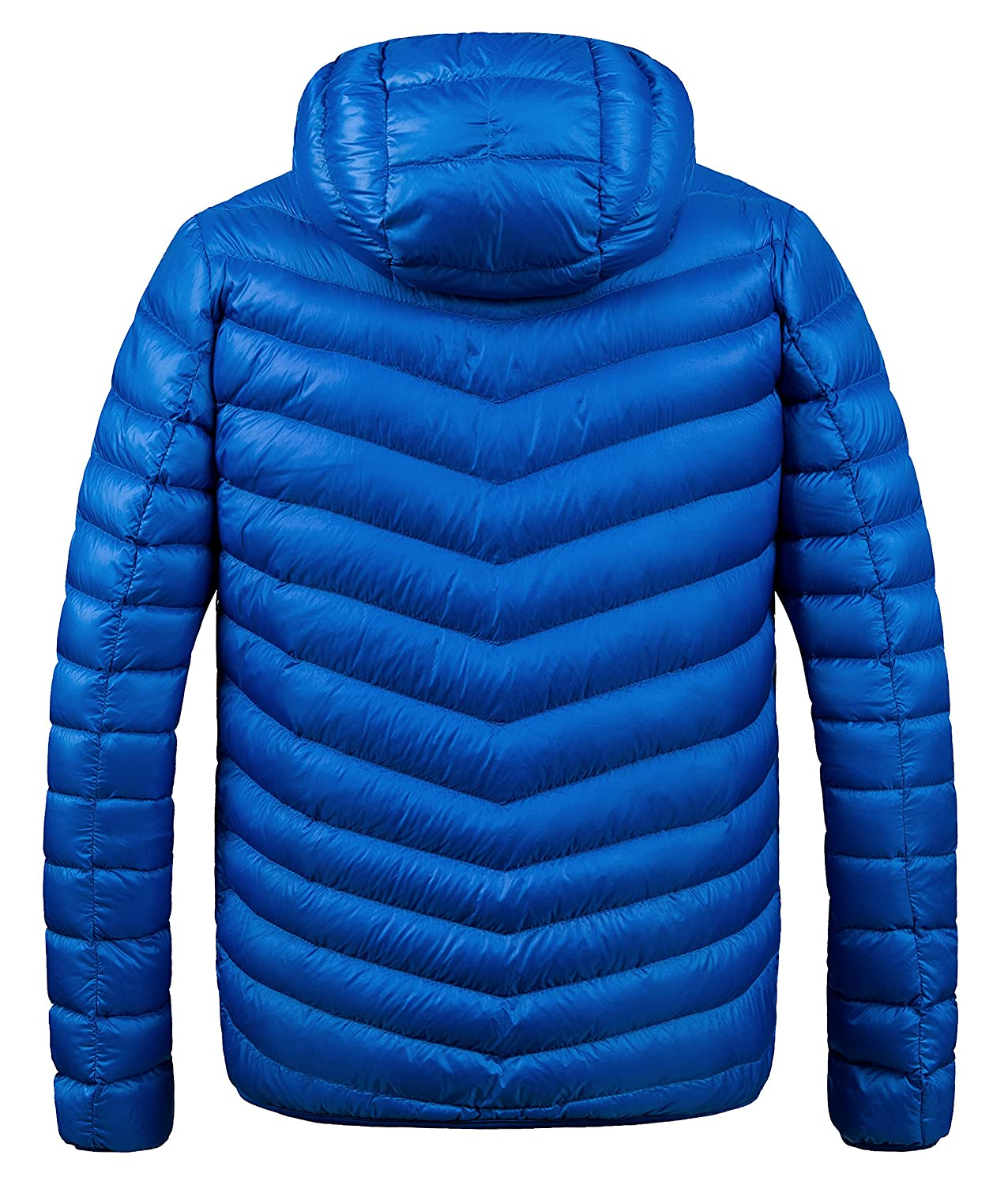 b54885131 Amazon.com: ZSHOW Men's Winter Hooded Packable Down Jacket: Clothing
