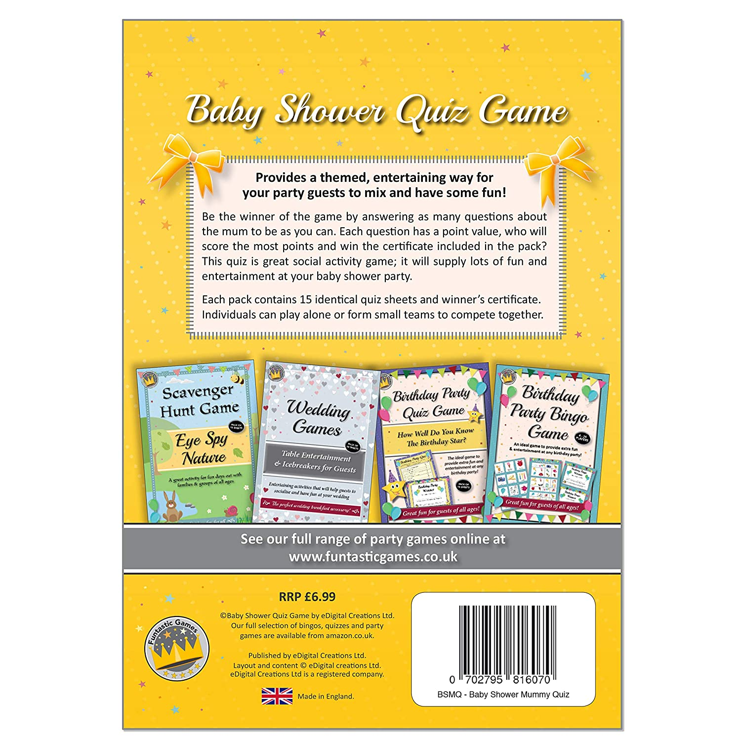 Baby Shower Party Game How Well Do You Know Mummy Quiz A Fun Idea