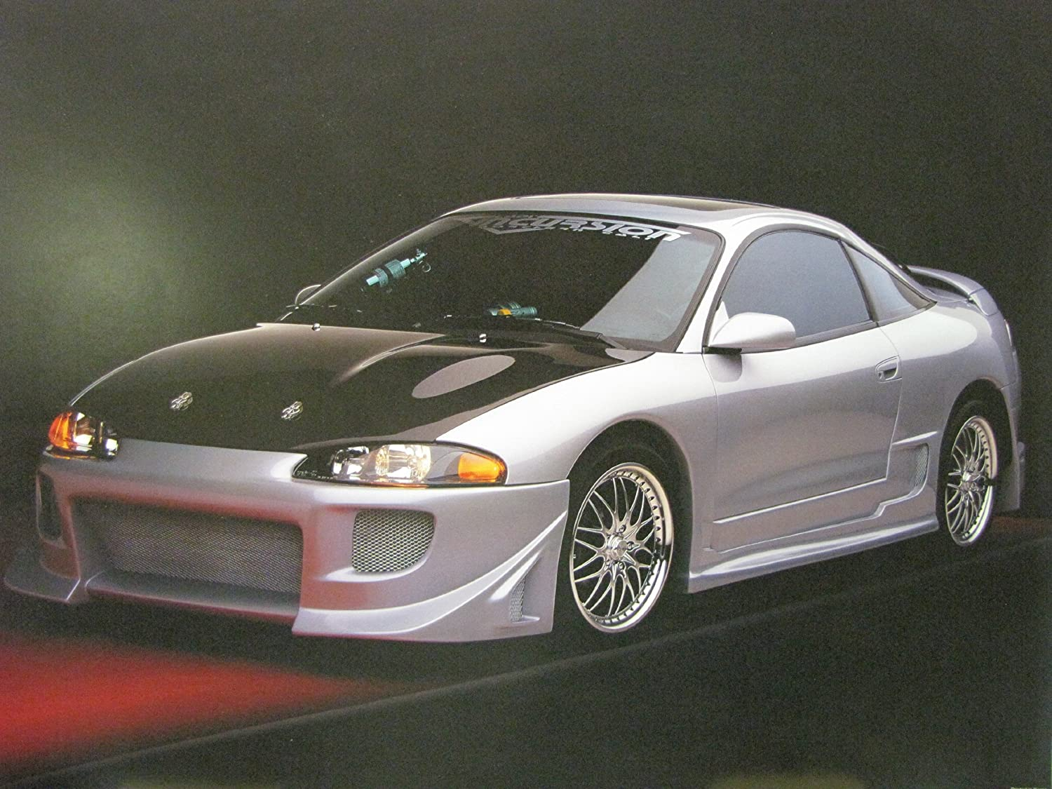 Amazon.com: Mitsubishi Eclipse Custom Street Racer Sports Car Wall ...