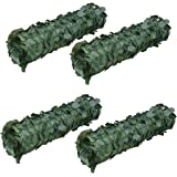 """ALEKO 94"""" X 39"""" Faux Ivy Privacy Artificial Fence Screen Hedge Wall or Fencing Outdoor Decoration, Lot of 4"""