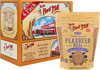 product image for Bob's Red Mill Brown Flaxseed Meal, 16-ounce (Pack of 4)