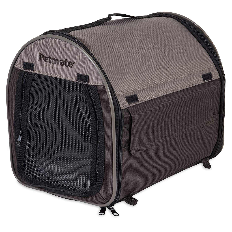 Petmate Portable Pet Home, Mini, Dark Taupe /Coffee Grounds Brown