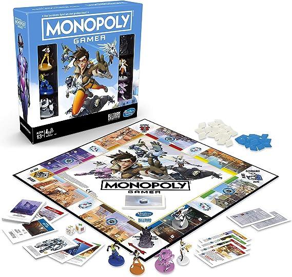 Hasbro Overwatch Board Game Monopoly Gamer *English Version* Games Accessories: Amazon.es: Juguetes y juegos