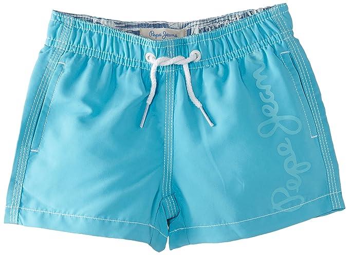 034f65818c3e Pepe Jeans Guido - Short - Uni - Garçon - Bleu (Turquoise) - FR  4 ...