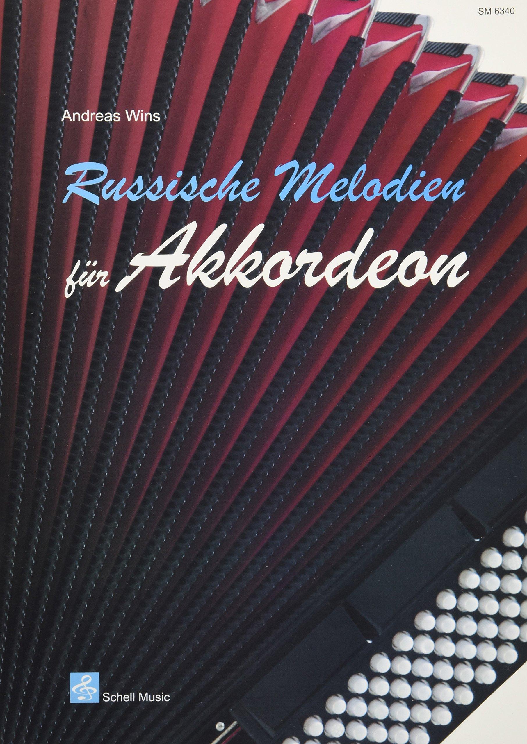 Russische Melodien für Akkordeon (Akkordeon-Noten, Akkordeonnoten)