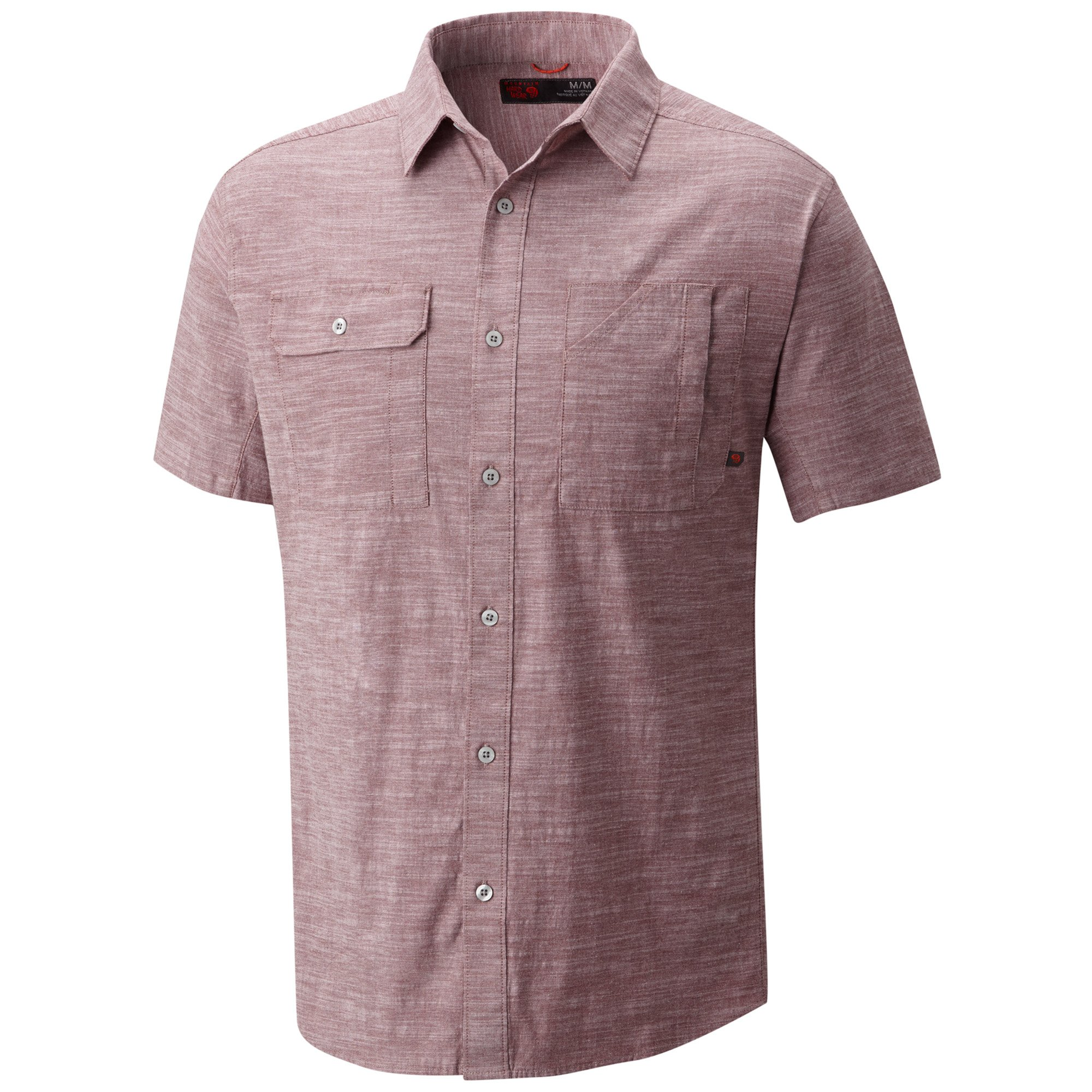Mountain Hardwear Men's Outpost Short Sleeve Shirt, Smith Rock, M