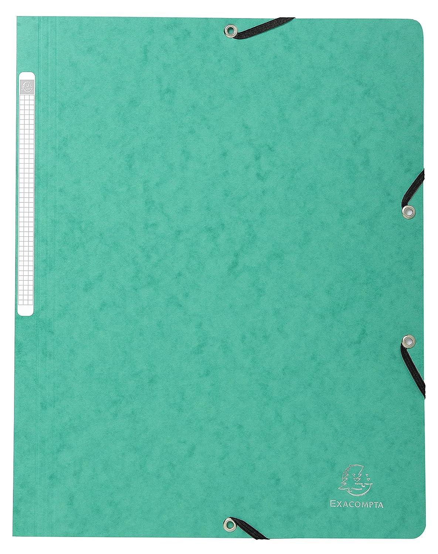 24x32 cm Nero 1 pezzo Exacompta 55411E Cartella con Elastico