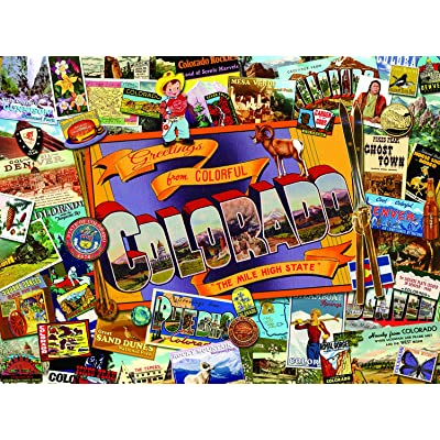 Mile High Colorado 1000 pc Jigsaw Puzzle by SunsOut: Toys & Games