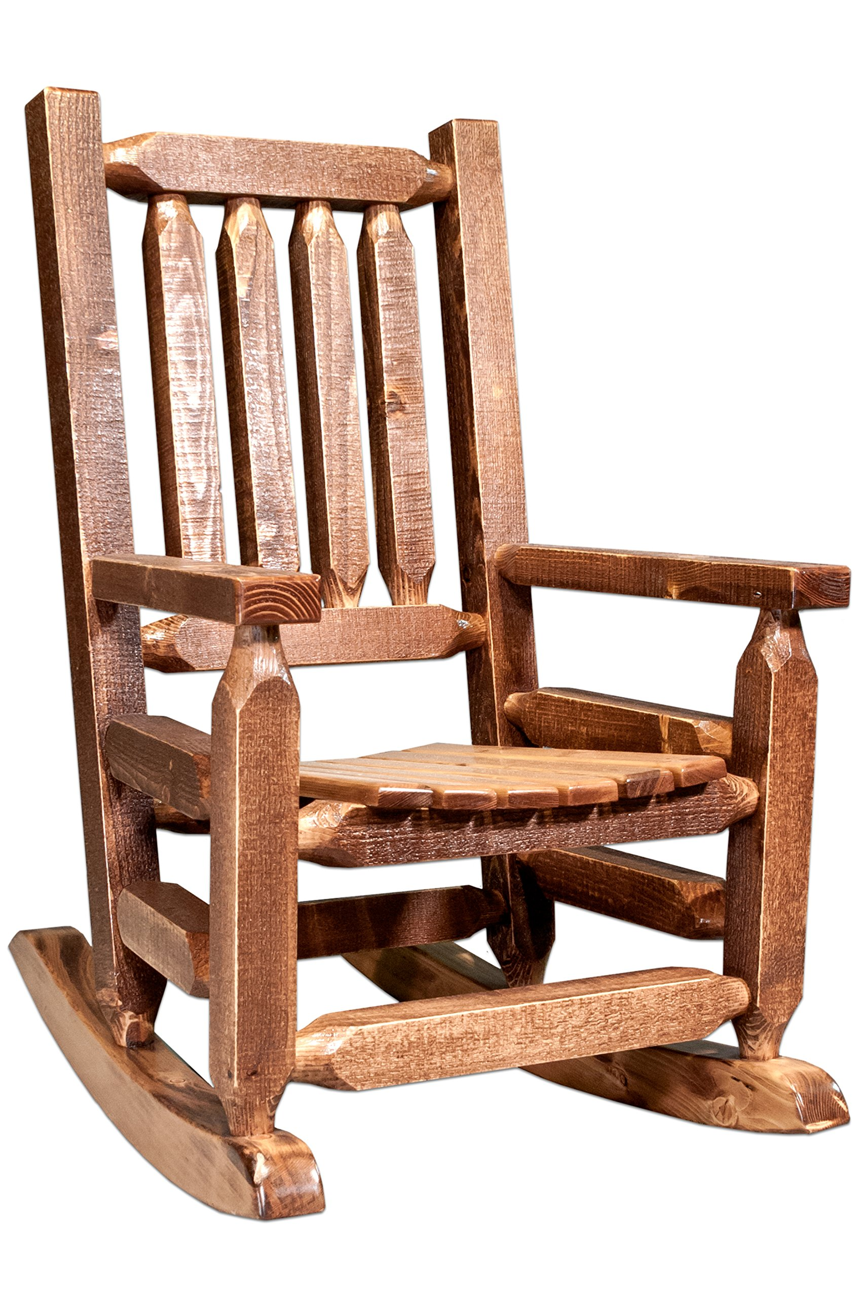 Montana Woodworks MWHCKRSSLAZ Child's Chair, Stain and Lacquer Finish