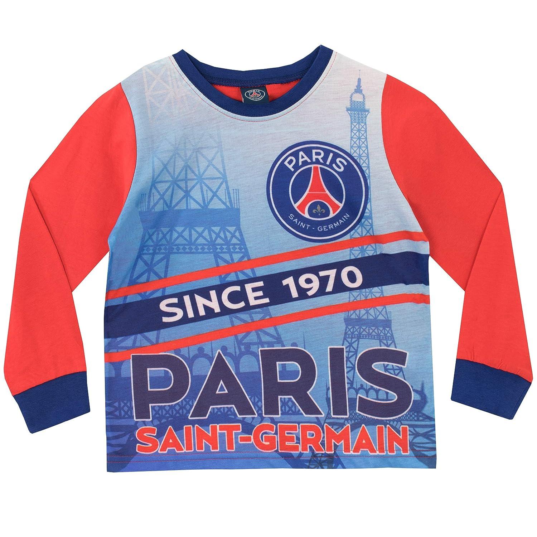 Paris Saint-Germain FC Pijamas de Manga Larga para niños Football Club: Amazon.es: Ropa y accesorios