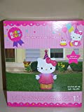 Hello Kitty Birthday Celebration 3.5 Lighted Airblown Inflatable