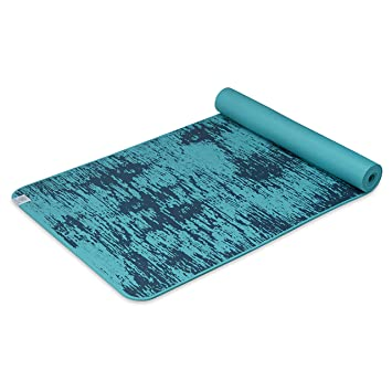 Amazon.com: Gaiam Yoga Mat - 6mm Insta-Grip Extra Thick ...
