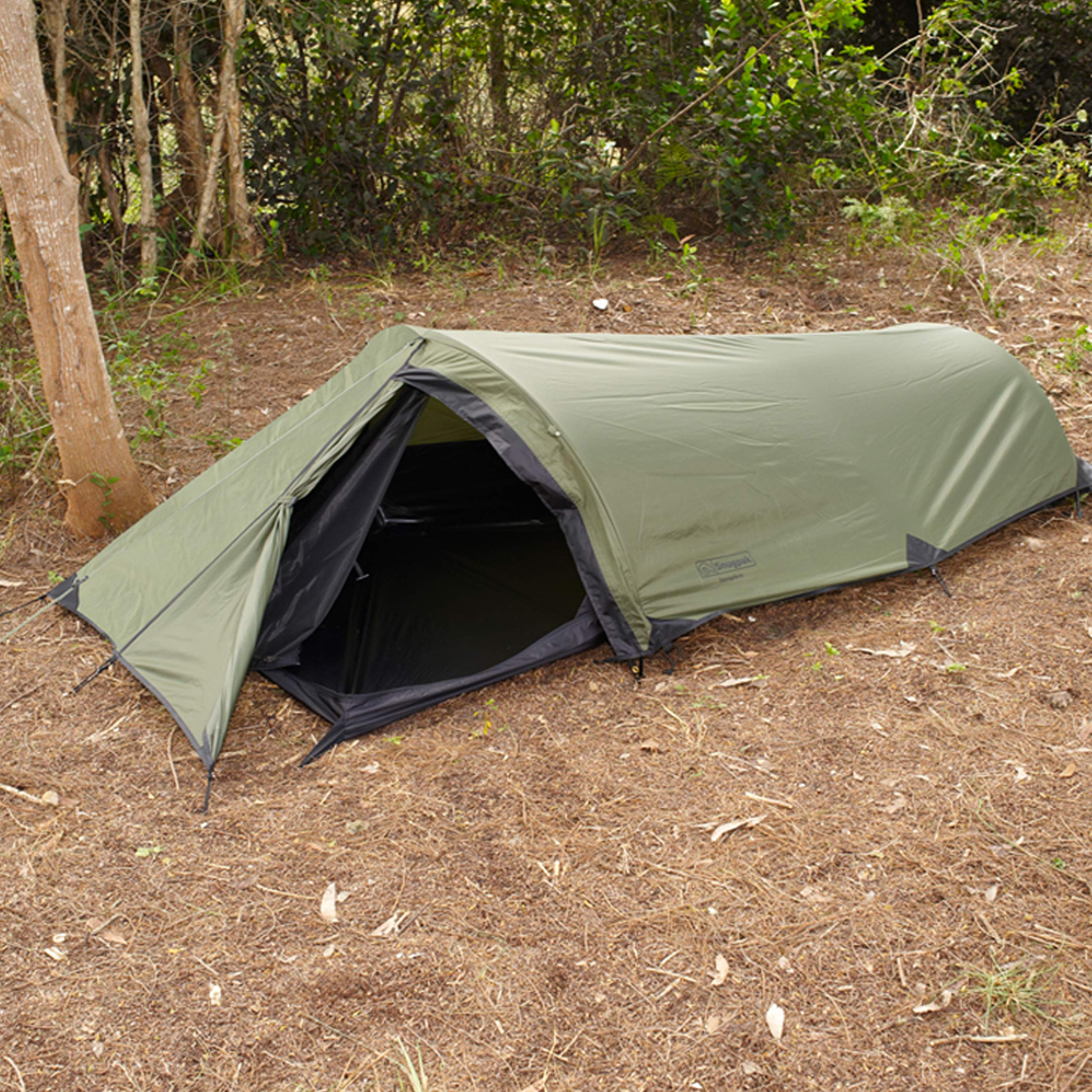 Snugpak Ionosphere 1 Person Tent, 94 inches x 35 inches x 28 inches, Waterproof Polyester and Nylon, Olive by Snugpak