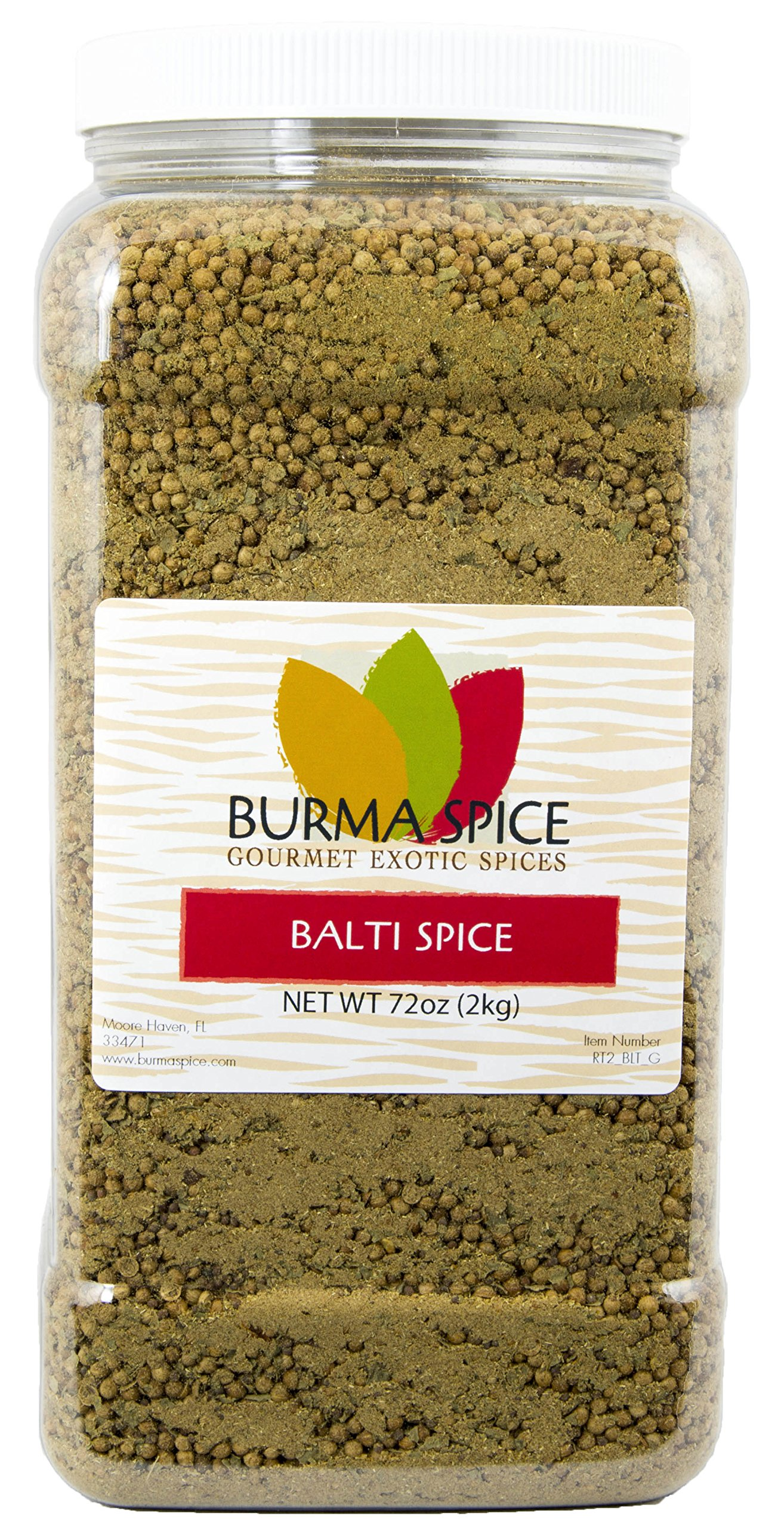 Balti Spice Blend : Used in Kashmiri Cuisine : 16 Spice Mix, Dry Herbs, No additives (72oz.)