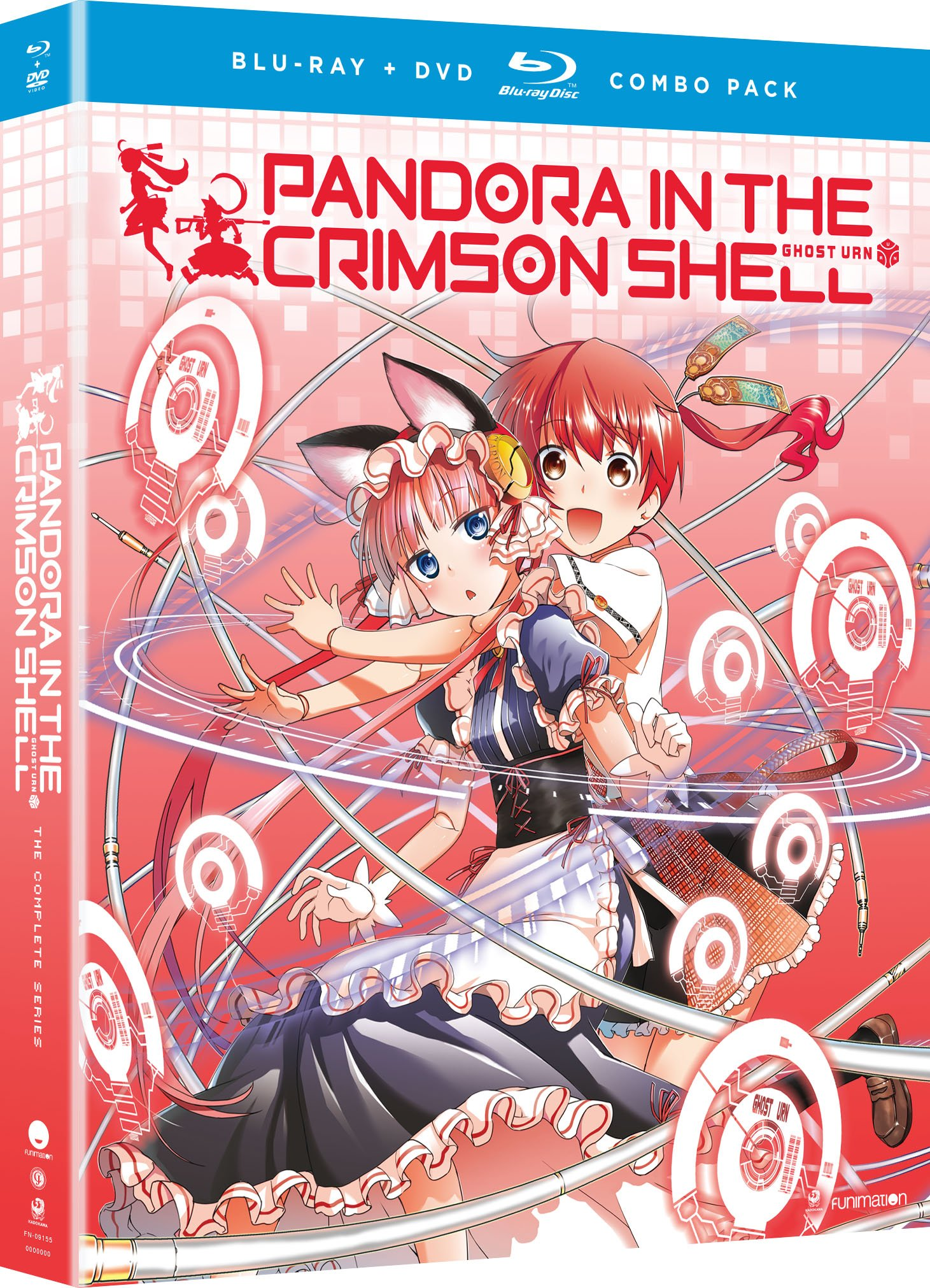 Blu-ray : Pandora in the Crimson Shell Ghost Urn: The Complete Series (With DVD, Boxed Set, 4 Disc)