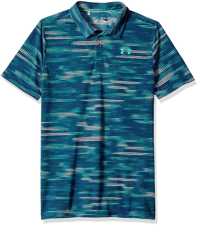 Under Armour Boys Youth Thread Borne Polo Shirt Under Armour Apparel 1300118