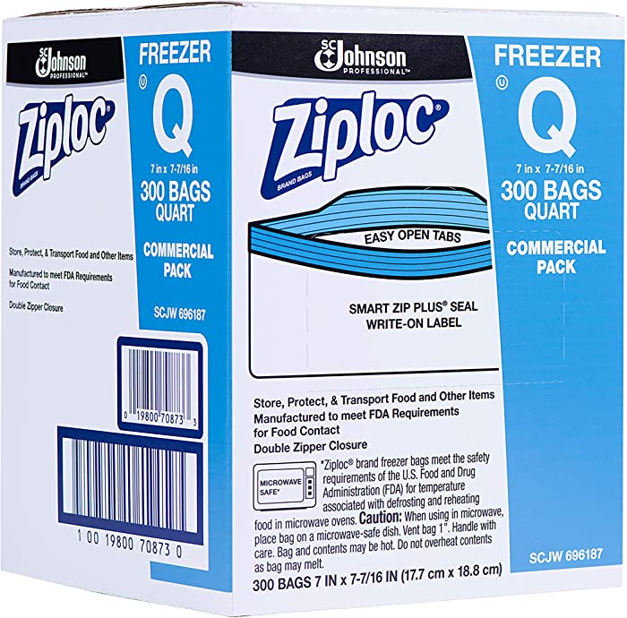 Top 10 Zip Loc Freezer Bafs