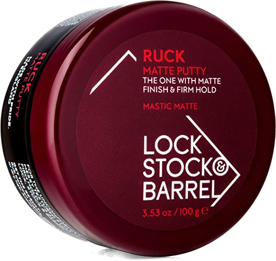 Lock Stock & Barrel Ruck Matte Putty For Men 100 g