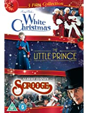 White Christmas / The Little Prince / Scrooge Triple Pack [2017]
