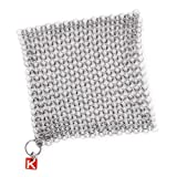 "Knapp Made CM Scrubber 6"" Small Ring Chainmail"