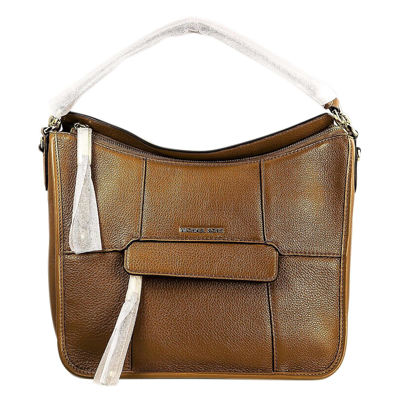 aaedb0fd481a Michael Kors 30S6GJOL2L-532 Women's Jesse Acorn Pebbled Leather Medium  Messenger: Amazon.ca: Luggage & Bags