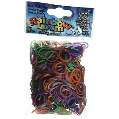 Rainbow Loom Chameleon Mood Change Rubber Bands with 24 C-Clips (600 Count): Toys & Games [5Bkhe1803735]