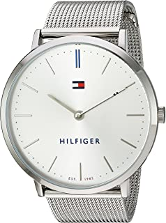 Tommy Hilfiger Womens Sophisticated Sport Quartz Stainless Steel Watch, Color:Silver-