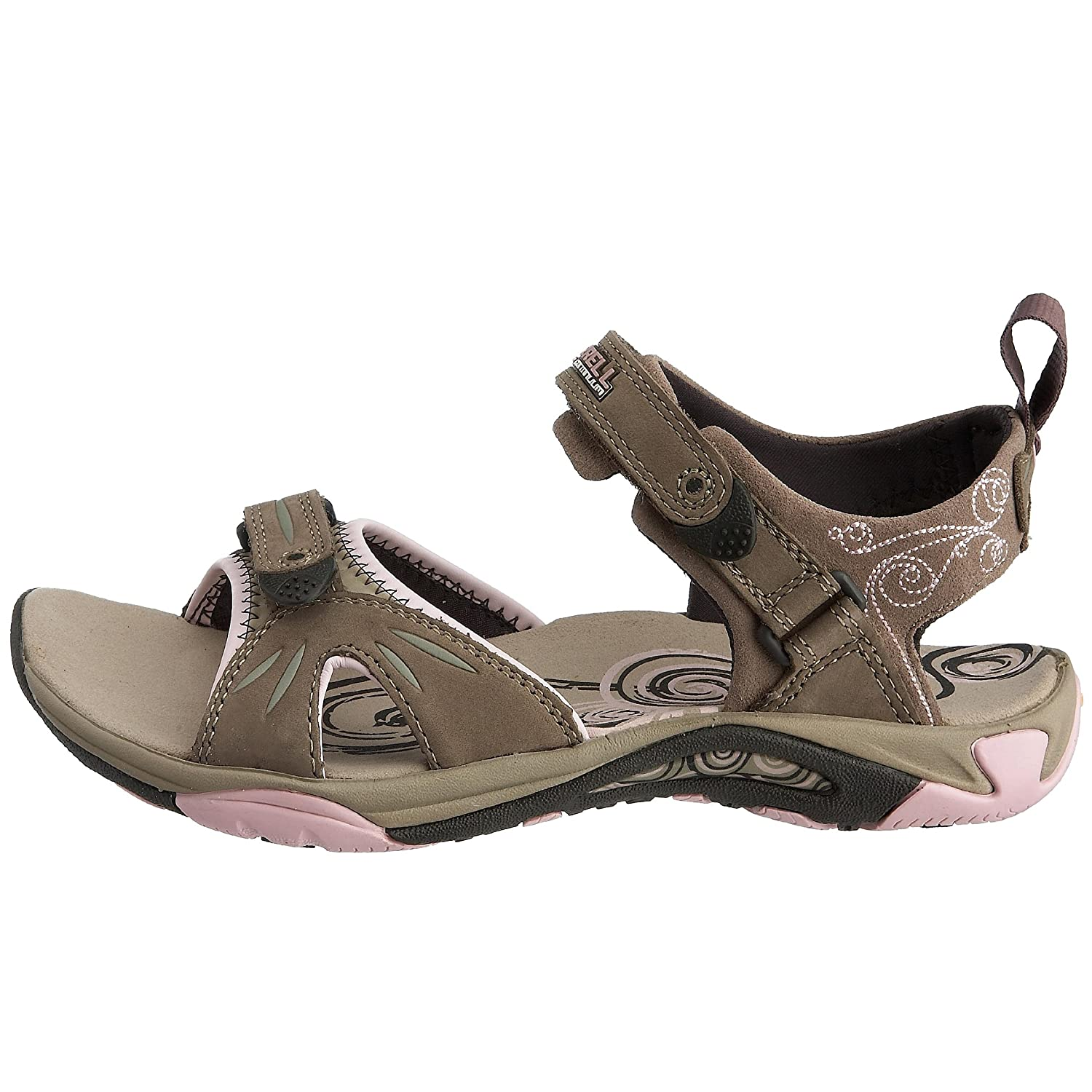 350f7ab07771 Merrell Women s Siren Strap Fashion Sandals Brown Pink 9 UK  Amazon.co.uk   Shoes   Bags