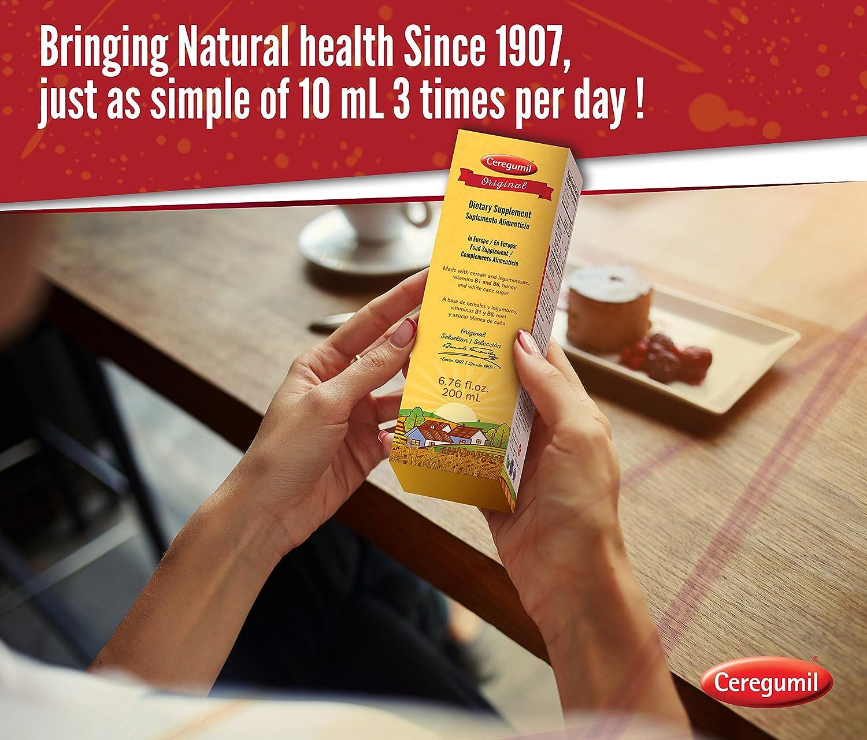 CEREGUMIL ORIGINAL Suplemento Nutricional c/ Vitamina Tiamina B1 Vitamina B6 Cereales y Legumbres Vitaminas y Suplementos - Energia y Formula Natural ...