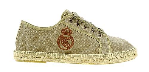 Espadrilles Gold - Alpargatas Real Madrid Basquet Tostado para Hombre, 45: Amazon.es: Zapatos y complementos