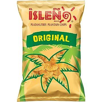 El Isleño Original Plantain Chips, 12 Count