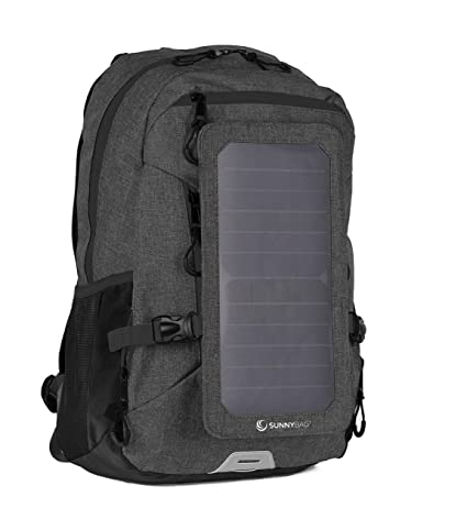 1a1609b2a540b Rucksäcke Solar Panel USB Ladegerät Rucksack Wasserdicht Outdoor Camping  Rucksack Rot