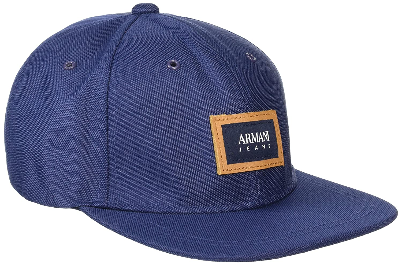 Armani Jeans 9340547P728 Gorra de béisbol, Azul (BLU Navy), Talla ...
