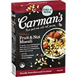 Carman's Muesli Toasted Classic Fruit and Nut 500g