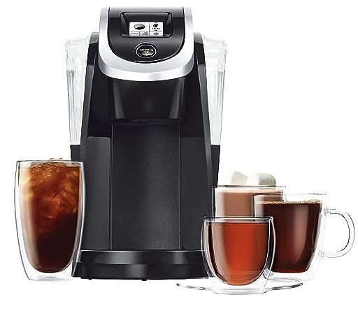 Keurig K250 Single Serve, Programmable K-Cup Pod Coffee Maker, Black