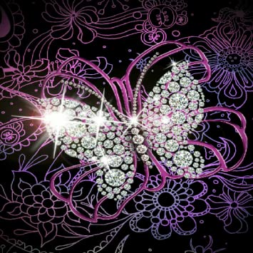 Amazoncom Diamond Butterfly Wallpaper Appstore For Android