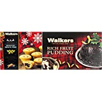 Walkers Rich Fruit Pudding And Nine Miniature Mince Pies