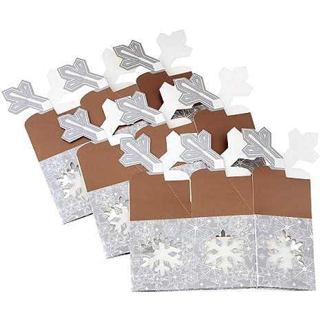 Wilton – Cajas de Copo de Nieve para Galletas, 3-Count, Set de