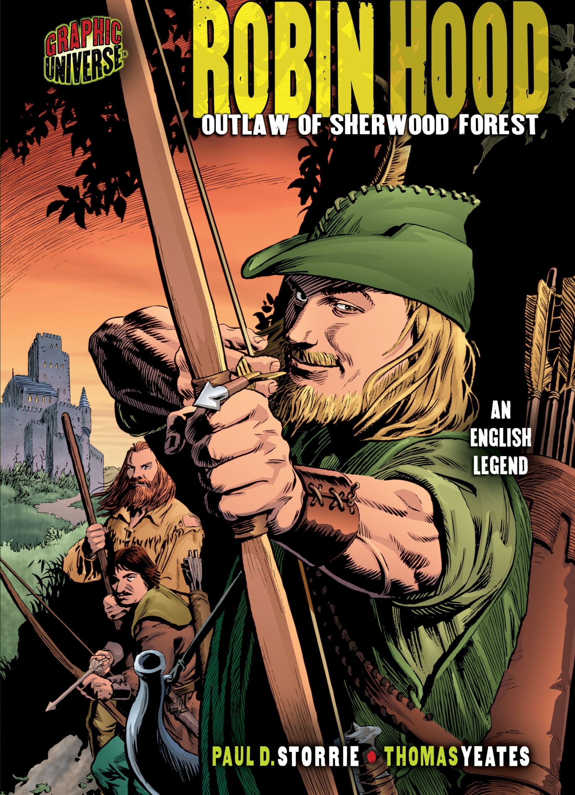 Read Online Robin Hood: Outlaw of Sherwood Forest [an English Legend] (Graphic Myths and Legends) ebook