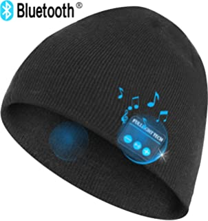 3261be007 Amazon.com : Qshell LED String Light Up Beanie Hat Knit Cap with ...