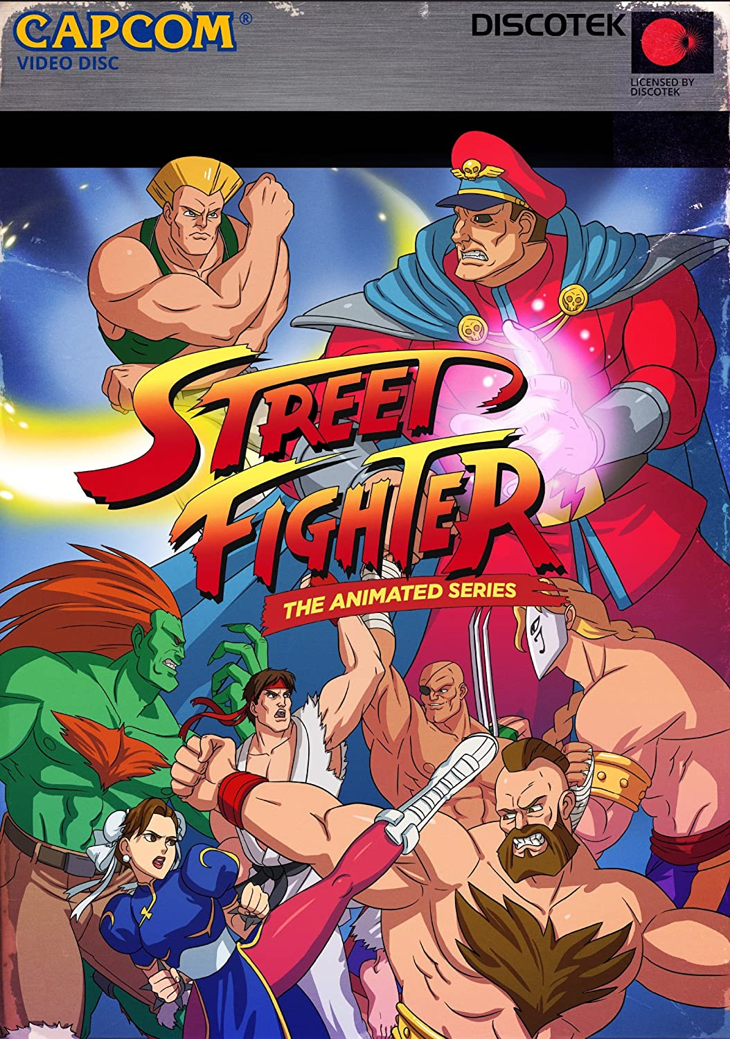 Amazon Com Street Fighter Ii The Animated Series Scott Mcneil Michael Donovan Daniel S Kletzky Movies Tv