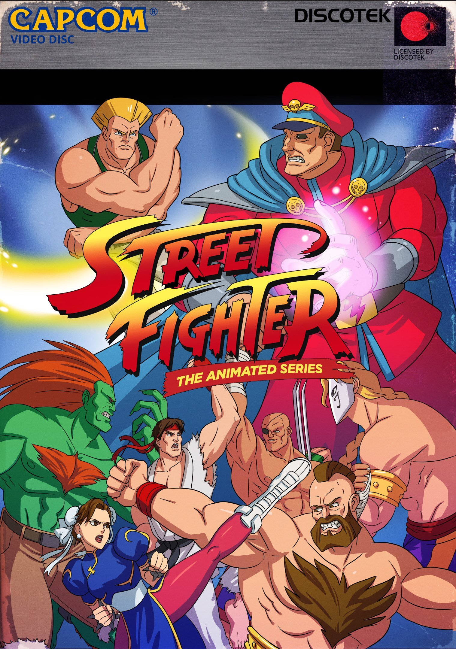 DVD : Scott McNeil - Street Fighter Ii: The Animated Series (4PC)