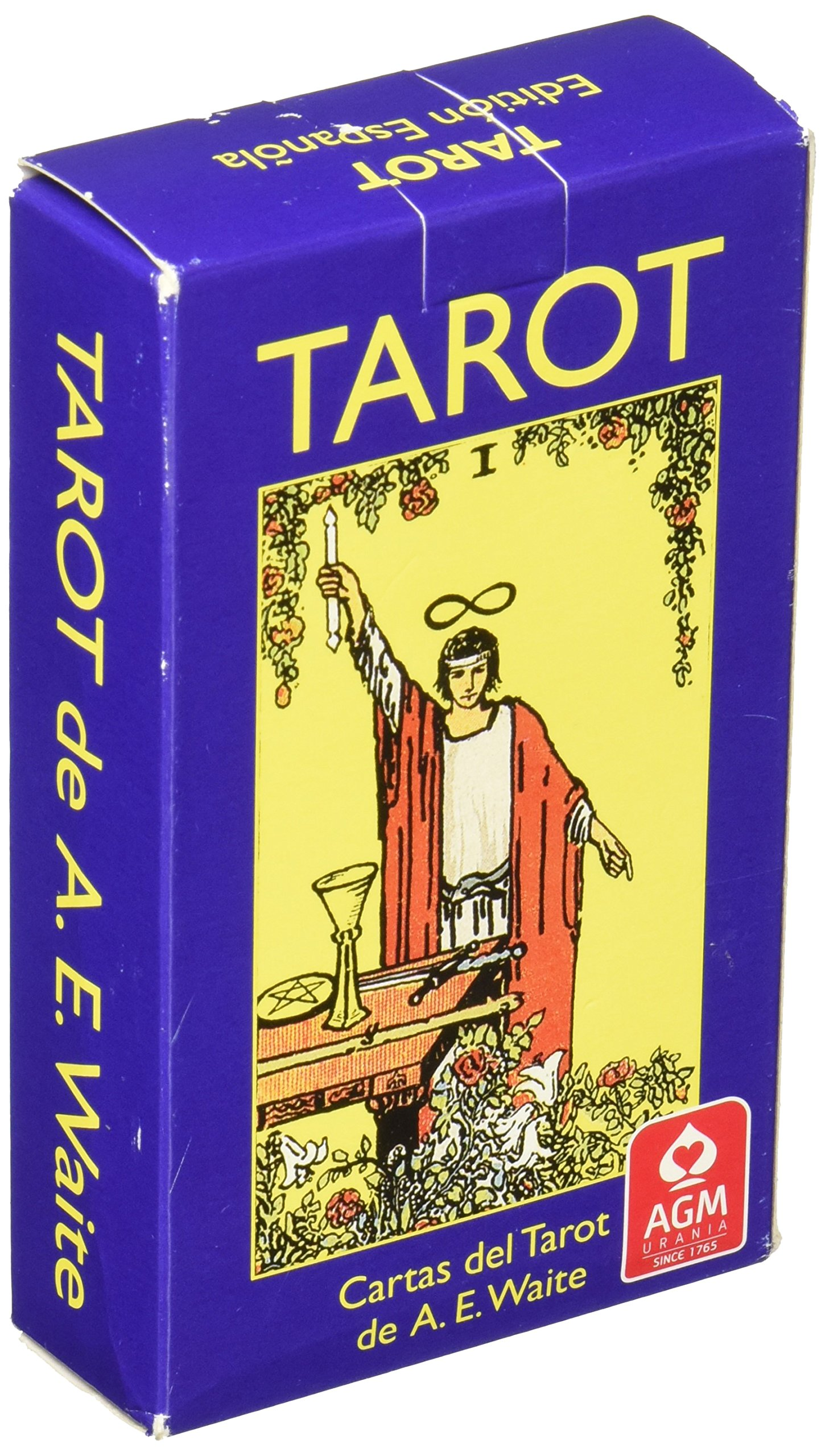 Tarot Rider-Baraja (Spanish Edition): Pamela Colman Smith ...