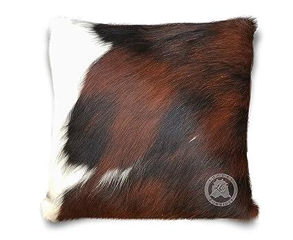 Palomino White Cowhide Pillowcase Hide Cushions Skin Leather