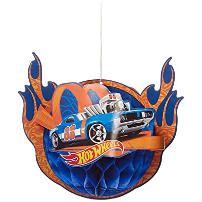 Hot Wheels Wild Racer Honeycomb Decorations, Party Favor: Toys & Games