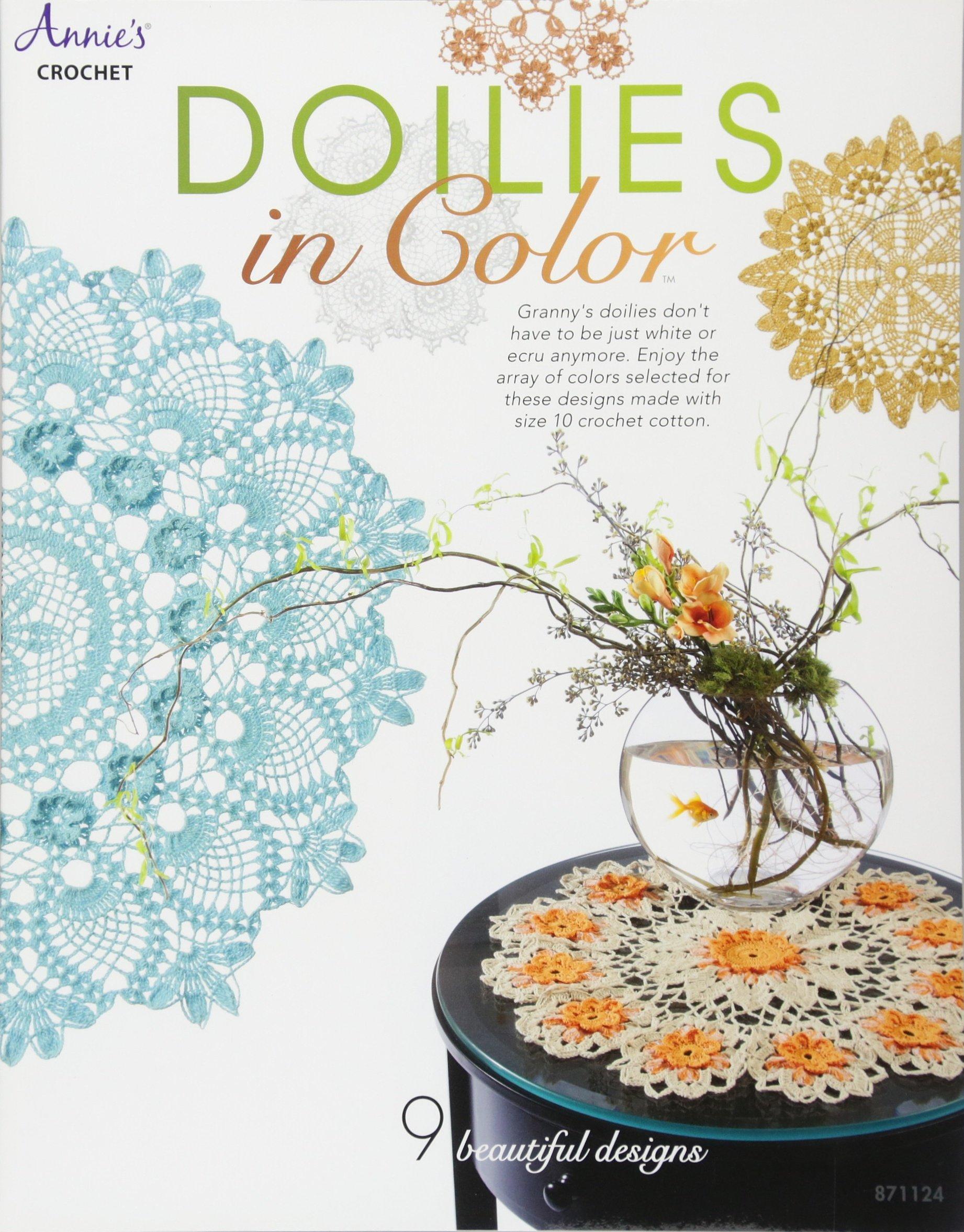 Doilies In Colortm Annies Attic Crochet Connie Ellison