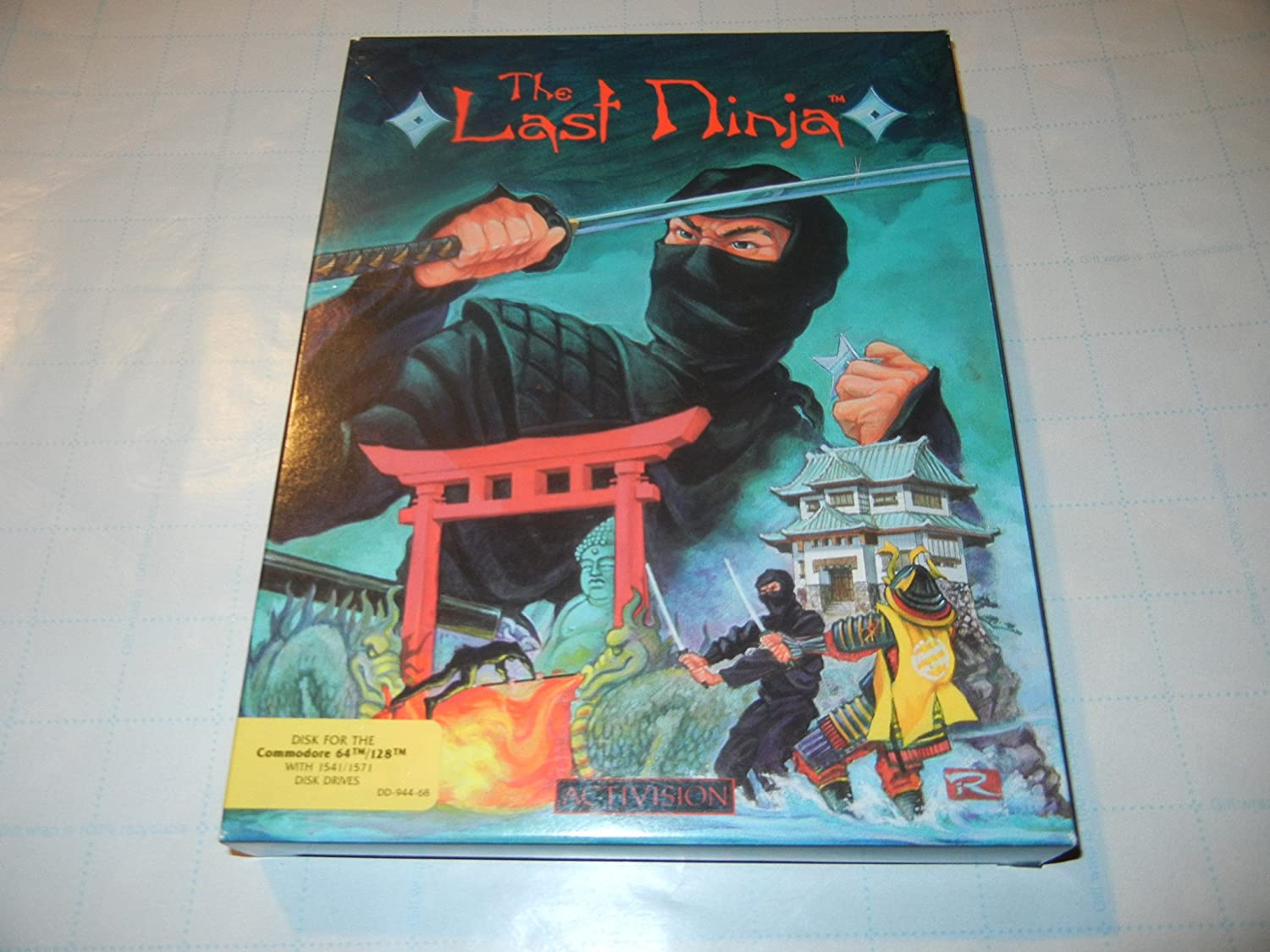 Amazon.com: The Last Ninja - Commodore 64: Video Games