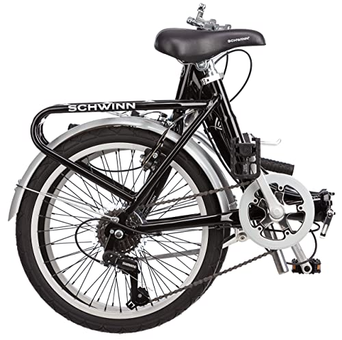 Schwinn 20-Inch Loop 7 Speed Folded Size